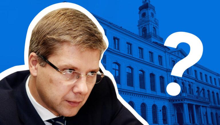 Otrdienas pēcpusdienā Rīgas dome lems par Ušakova atlaišanu