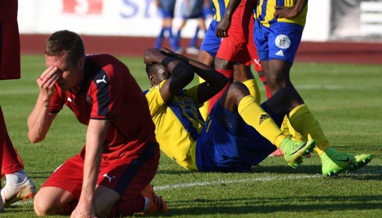 UEFA tiesnesim barga diskvalifikācija saistībā ar piedāvājumu ietekmēt 'Ventspils' spēli