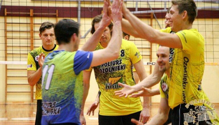'Poliurs/Ozolnieki' kā vienīgā no Latvijas volejbola komandām saglabā izredzes tikt Baltijas līgas finālturnīrā