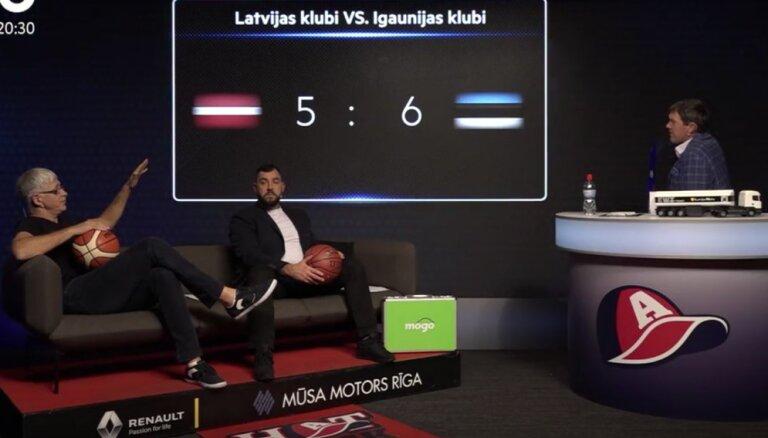 Valters un Puče: Latvijas-Igaunijas basketbola līga izveidota Latvijas klubu nabadzības dēļ