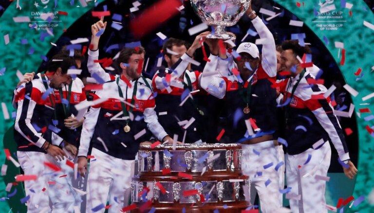 Франция впервые за 16 лет выиграла Кубок Дэвиса