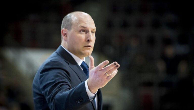 Štelmahers priecīgs par svarīgo uzvaru FIBA Čempionu līgas mačā