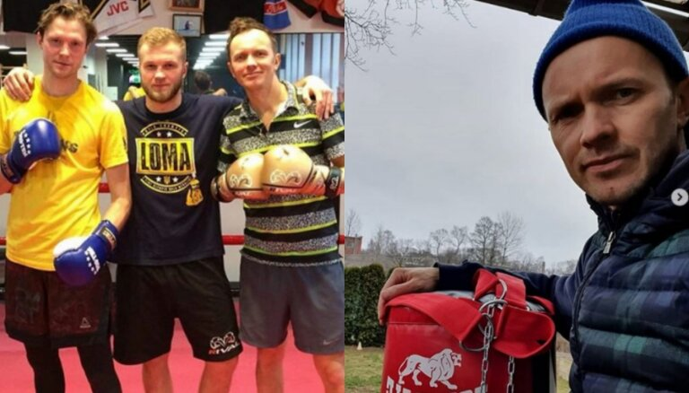 Renārs Kaupers sācis aizrauties ar boksu