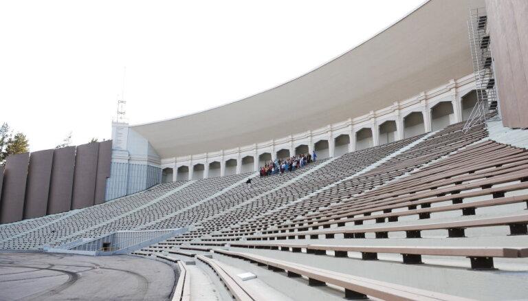 Rīgas dome aizņemsies 41 miljonu eiro Mežaparka Lielās estrādes rekonstrukcijai