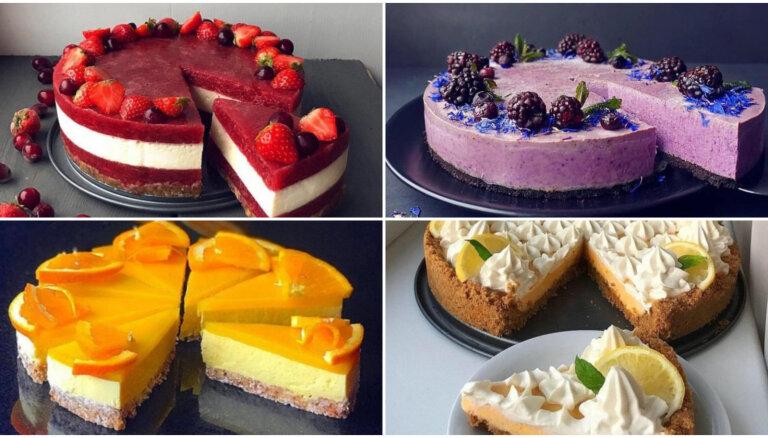 14 slaidajai līnijai draudzīgas kūkas kaloriju skaitītājiem