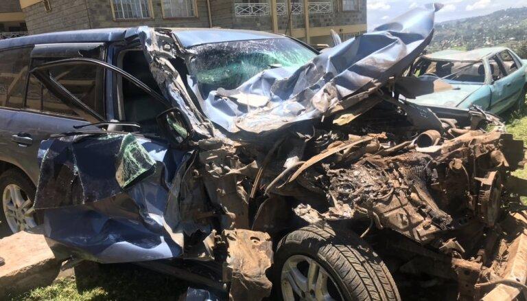 Olimpiskais čempions Rudiša cieš autokatastrofā Kenijā