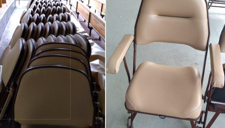 VID atklāj nelikumības Dzintaru koncertzāles krēslu iepirkumā