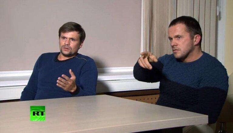 ES vērsīs sankcijas pret Skripaļa indētājiem Petrovu un Boširovu