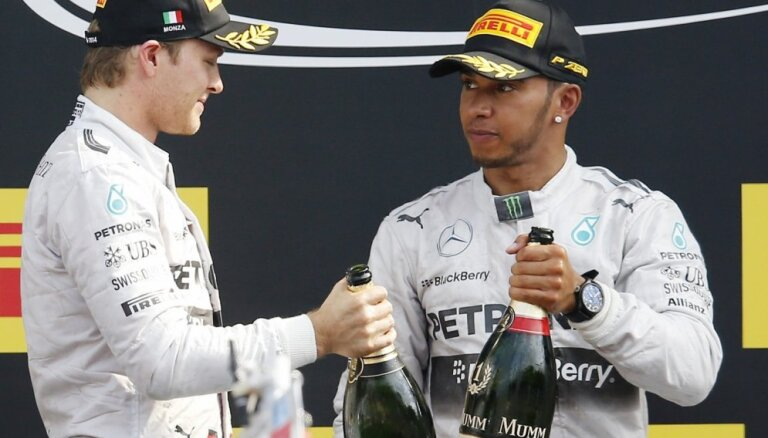 Гран-при Бразилии: Росберг завоевал десятый поул в сезоне