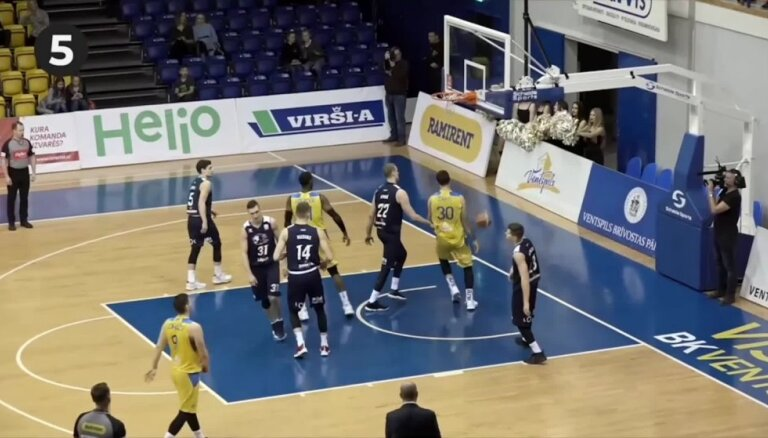 'OlyBet' basketbola līgas TOP 5 (19.03.2019.)