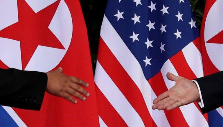 Ziemeļkoreja atsāks sarunas ar ASV