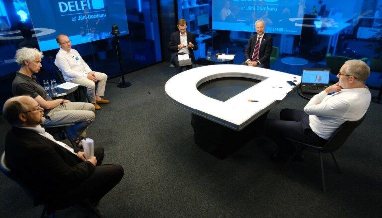 'Delfi TV ar Jāni Domburu' diskusija 'Vakcinācija pret Covid-19: kā veicināt, kam pieprasīt? Pilns ieraksts