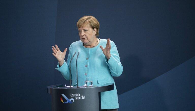 Rietumbalkānu valstu integrācijas veicināšana ir ES interesēs, pauž Merkele