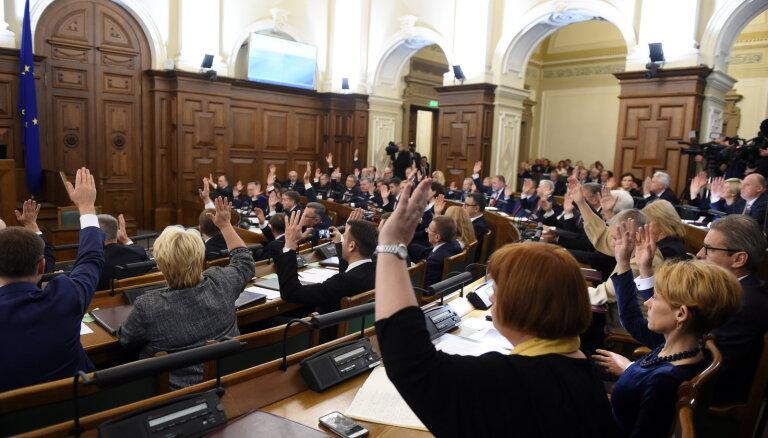 Saeima pagaidām nelems par 40 miljonu eiro kompensāciju ebreju kopienai