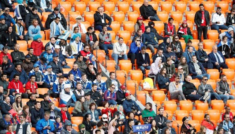 В ФИФА объяснили 5000 пустых мест на игре чемпионата мира в Екатеринбурге