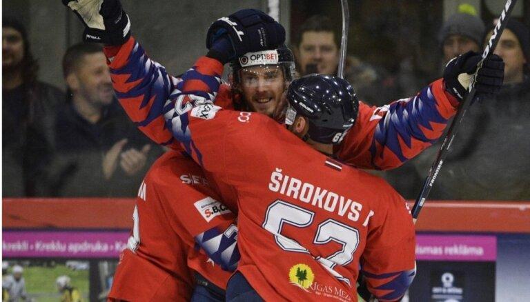 'Prizma' hokejisti ar grūtībām uzvar pastarīti 'Lido'