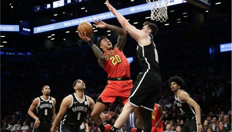 Kurucu sarājušais 'Nets' treneris slavē viņu pēc uzvaras pār Atlantas 'Hawks'
