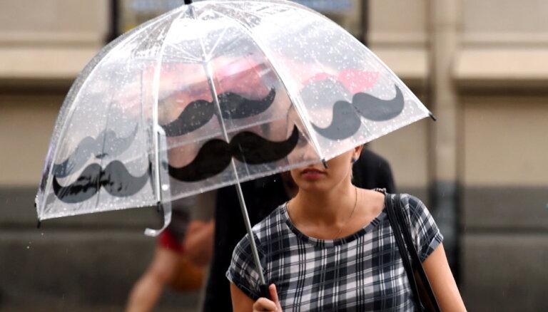 Tuvākajā nedēļā lietus gaidāms visā valstī