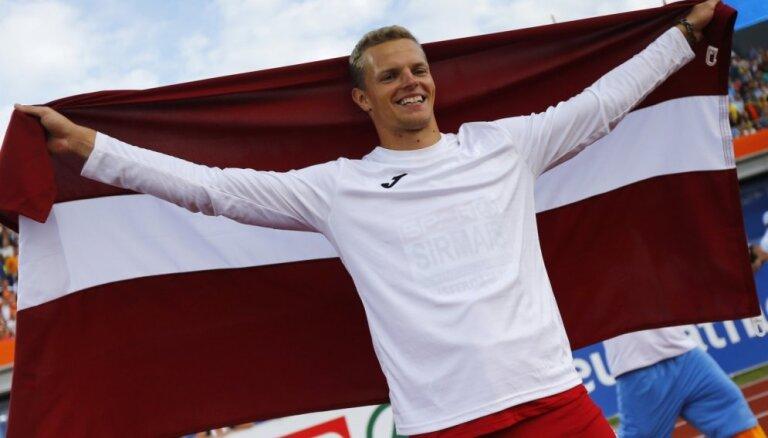 Šķēpmetējs Sirmais sensacionāli kļūst par Eiropas čempionu
