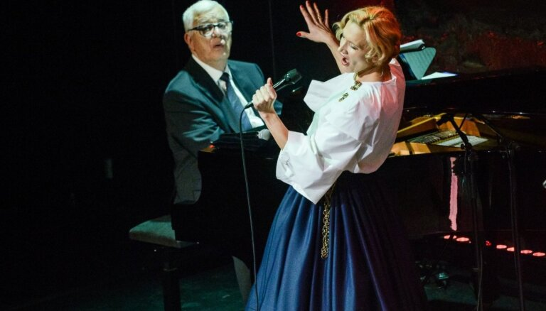 Raimonds Pauls un Ance Krauze izdod suitu dziesmu albumu 'Sasala jūrīna'