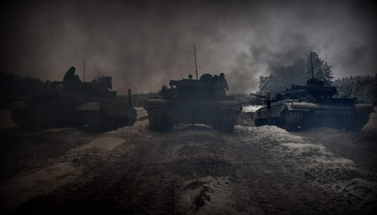 Krievija palielina savus spēkus pie Krievijas-Ukrainas robežas