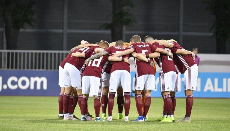 Pārmaiņu skartā Latvijas futbola izlase 'Euro 2020' atlasē viesojas Austrijā