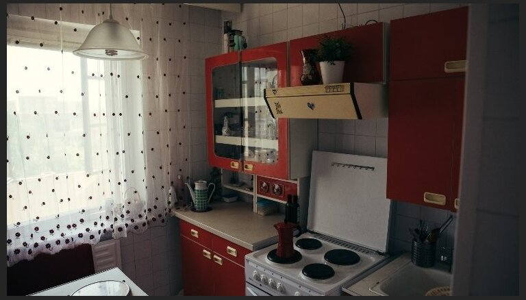 Atgriezties pagātnē: dzīvoklis ar Černobiļas traģēdijas laika sajūtu