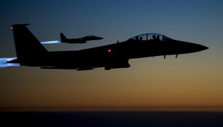 ASV vadītās koalīcijas uzlidojumos 'Daesh' Sīrijā nogalināti 150 teroristi