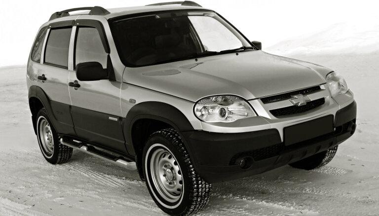 'GM-AvtoVAZ' pēc 17 gadiem pārtrauc 'Chevrolet Niva' ražošanu
