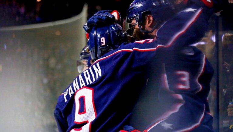 НХЛ: Панарин блеснул результативностью, У Тарасенко — гол, Овечкин промолчал