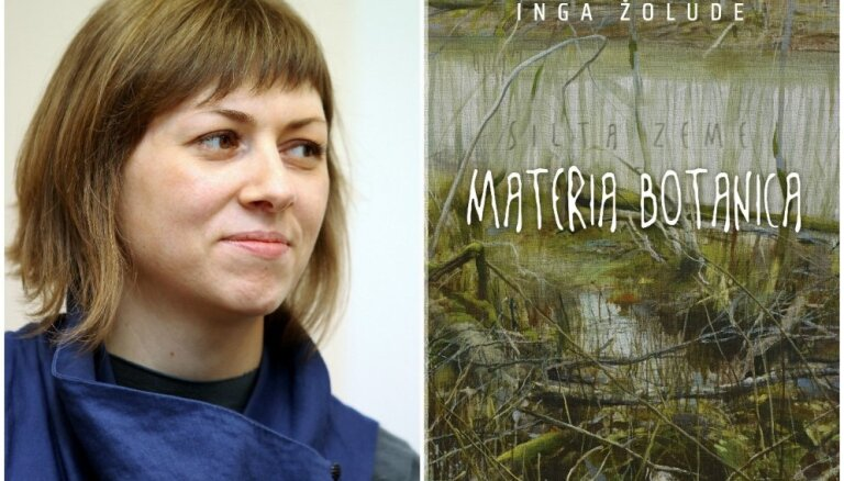 Izdots jauns Ingas Žoludes romāns 'Materia botanica'