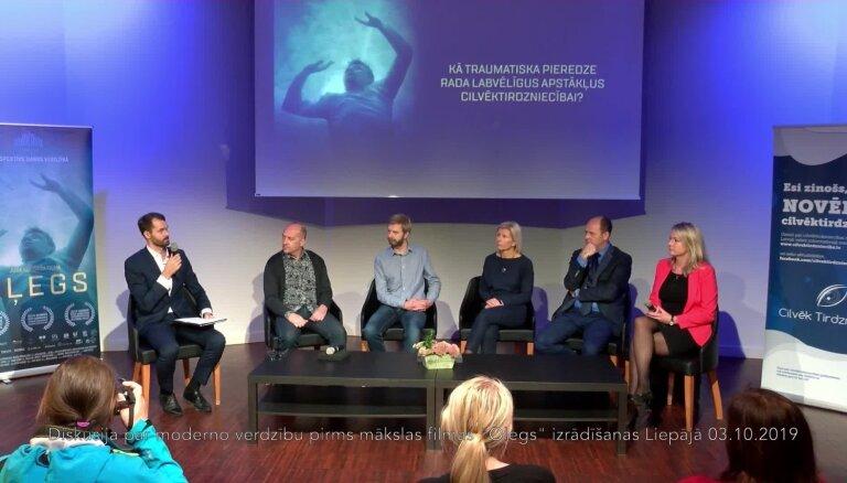 Video: Latvija cīņai ar cilvēktirdzniecību ir gatava? Trešā ekspertu diskusija par filmu 'Oļegs'