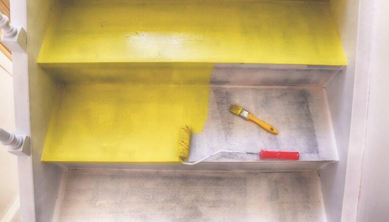 Katrs pakāpiens kā māksla – idejas radoši pārkrāsotām trepēm interjerā