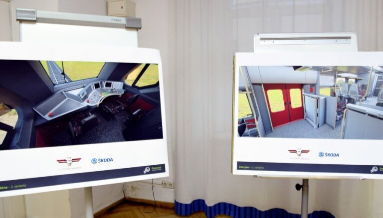 Jaunākais 'Pasažieru vilciena' lēmums – vilcienus piegādās 'Škoda Vagonka'