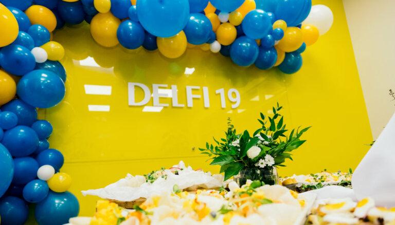 Портал DELFI отмечает свое 19-летие