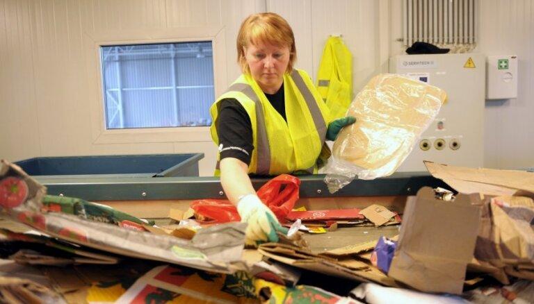 Stopiņu novadā būvēs sadzīves atkritumu šķirošanas rūpnīcu