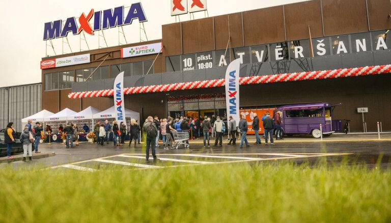 После реконструкции открылся супермаркет Maxima на улице Мукусалас