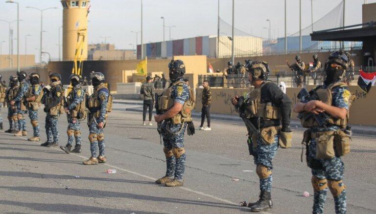 Irākas spēki atguvuši kontroli pār teritoriju ap ASV vēstniecību