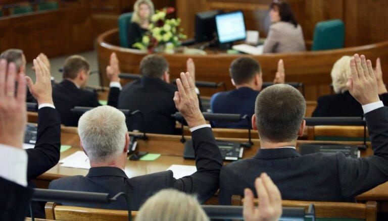Ievēlēts 12.Saeimas Prezidijs