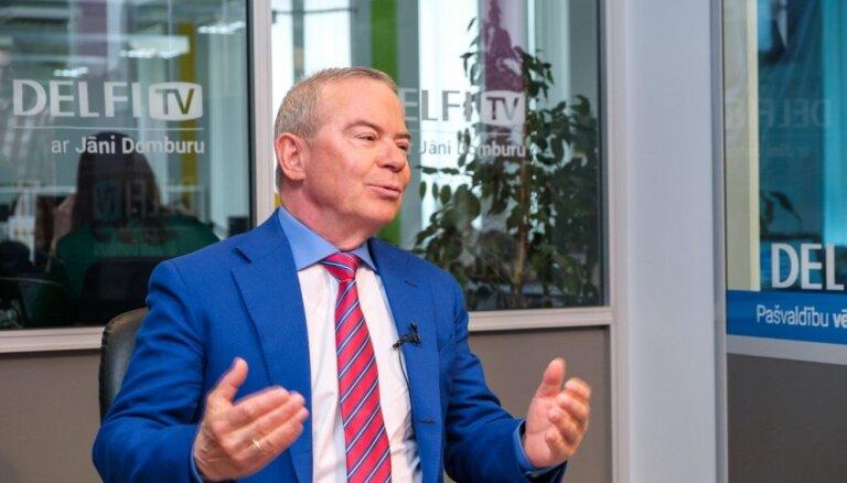 Lembergs: Kučinskim nav jāiesaistās Rīgas domes strīdos