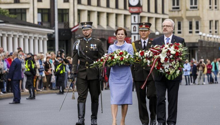 Экс-министр: Левитс нарушил протокол в день инаугурации