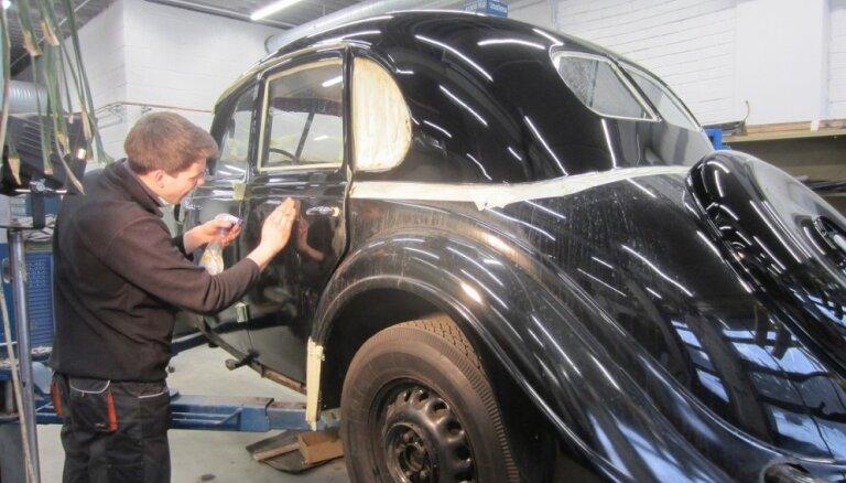 Rīgas Motormuzeja ekspozīciju papildinājuši divi jaunumi