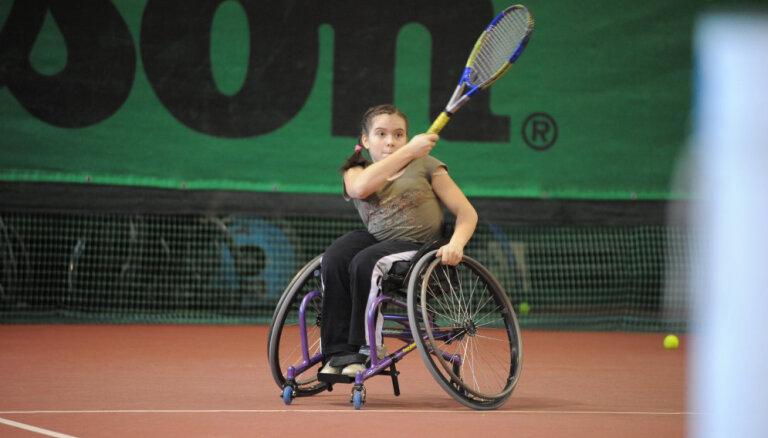 В Риге впервые пройдут мастер-классы по теннису на колясках для детей и взрослых