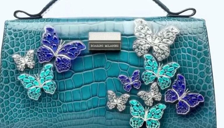 ФОТО. Бриллианты, сапфиры и турмалины. Как выглядит самая дорогая сумка