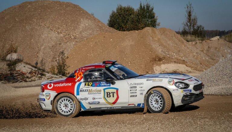 ERČ un 'Rally Liepāja' programmu papildina 'Abarth Rally Cup'
