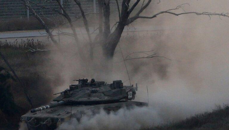 Izraēla devusi triecienus 'Hamas' mērķiem Gazas joslā