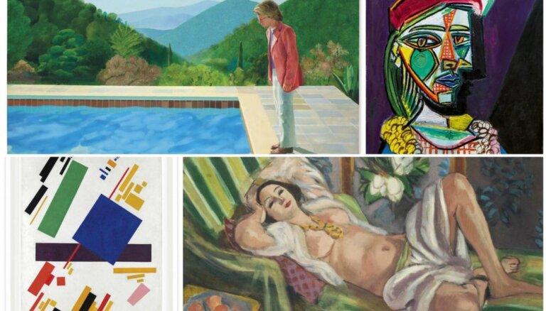 Miljoni par šedevriem. 10 dārgākie mākslas darbi, kas pārdoti 2018. gadā
