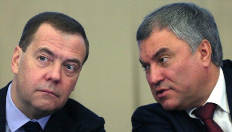 Volodins rosina prasīt Ukrainai kompensāciju par Krimas ekonomisko stāvokli