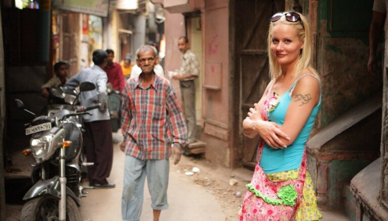 Foto: Binnijas karstais ceļojums uz Indiju