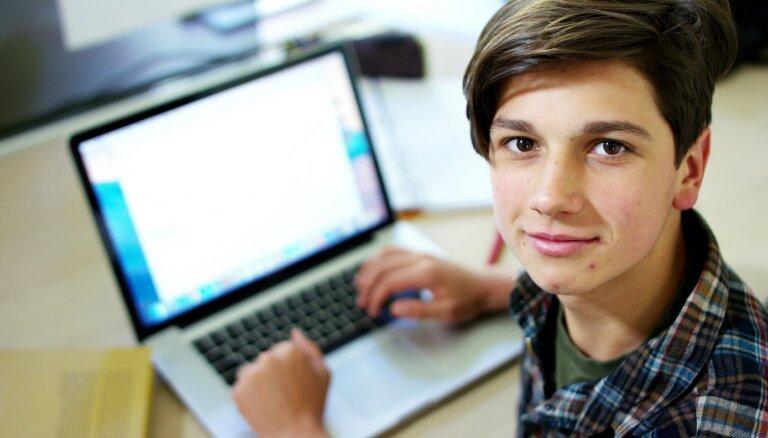 В онлайн-игре на эрудицию победила команда Агенскалнской государственной гимназии